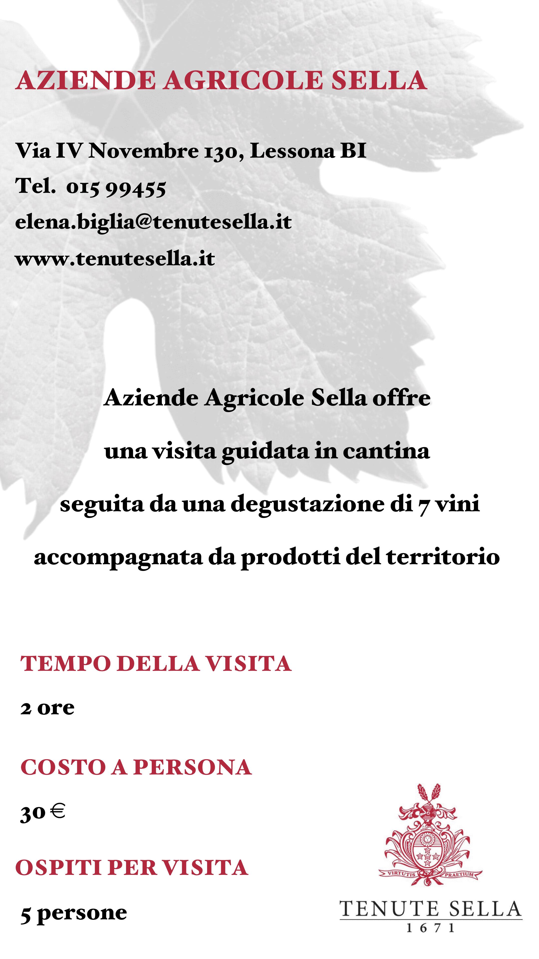 Aziende Agricole Sella